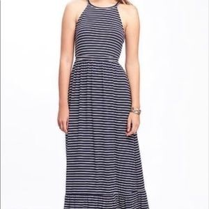 NWT Old Navy Striped Maxi Dress Size M